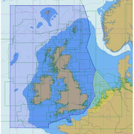 Iles Britanniques et régions limitrophes